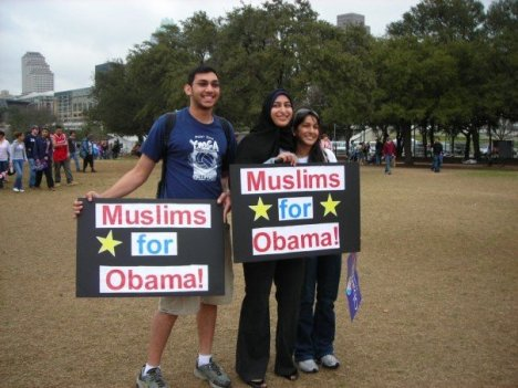 Muslims for Obama, isn't that sweet?